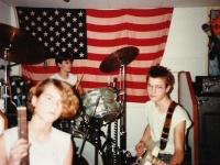 im Proberaum 1984